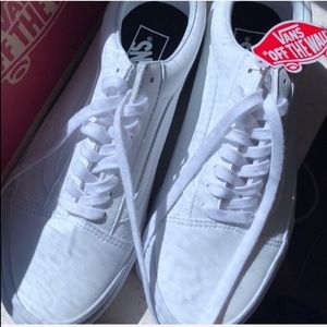 Vans new with tags
